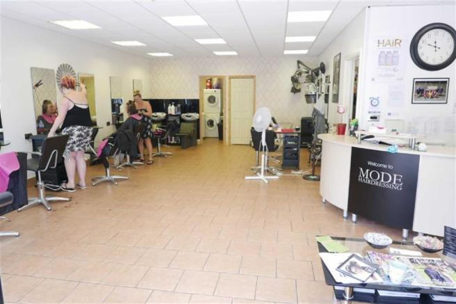 MODE HAIRDRESSERS GROUND FLOOR SALON