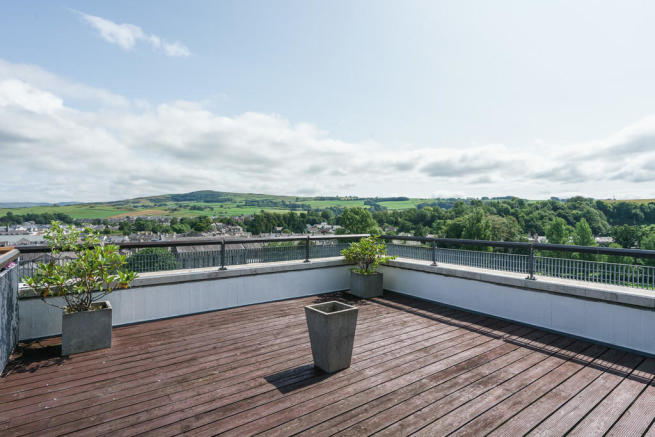 Roof terrace with...