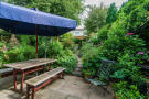 Secluded patio wi...