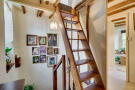 Ladder staircase ...