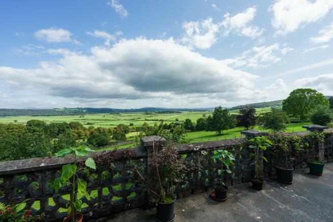 Balcony with far ...