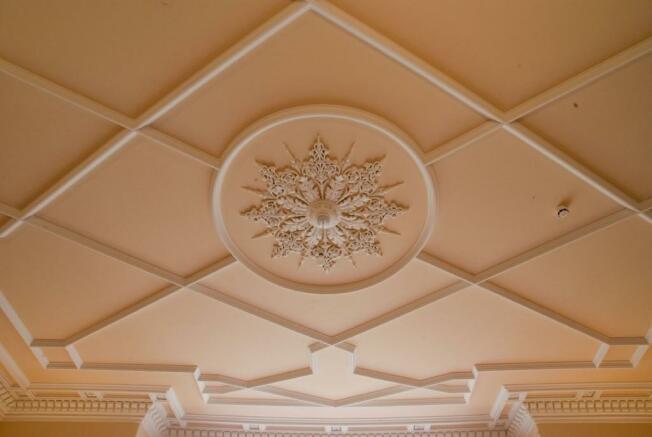 Ceiling in Recept...