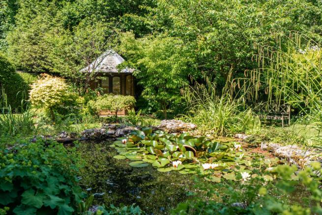 Pond and Summerho...