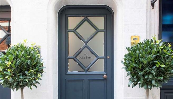 Entrance to Binney Street