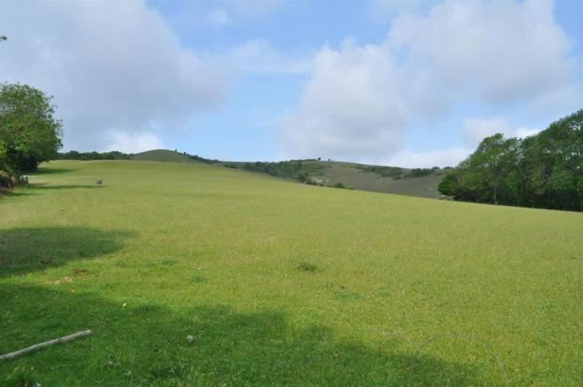 View of South Downs From Rear Garden