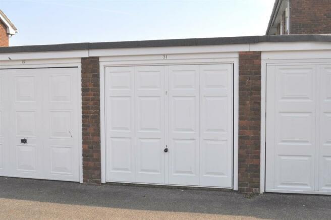 Garage in Adjacent Block