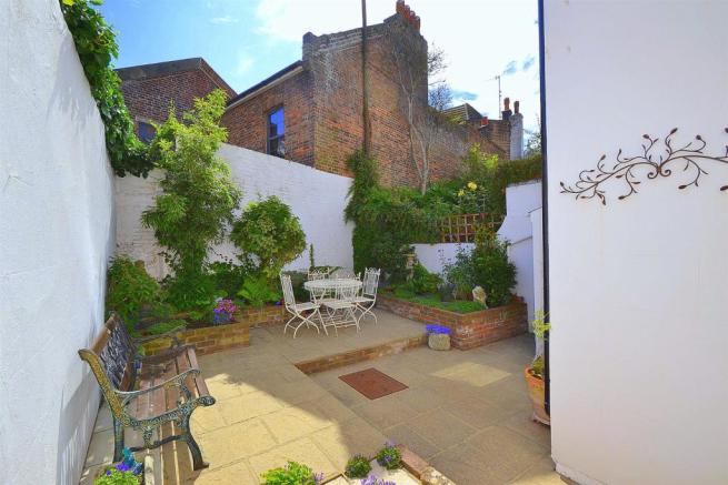 Access from Dining Room to Rear Garden