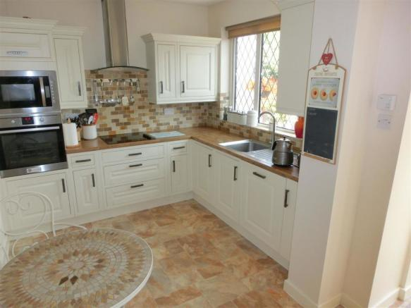 EXTENDED & REFITTED BREAKFAST KITCHEN