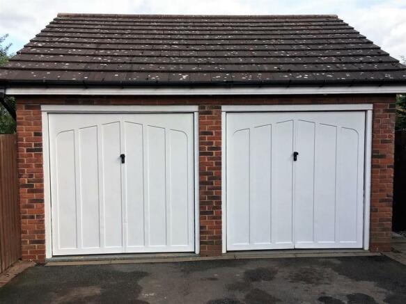 Double Width Garage