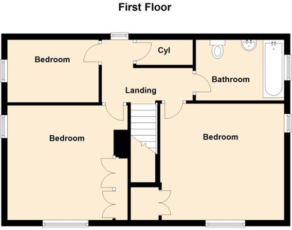 3 East Avenue, Brant Broughton - Floor 1.jpg
