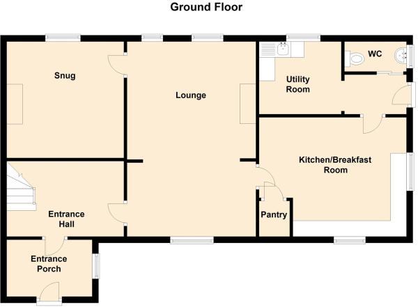 Brinkley Hill Farm, Brinkley, Southwell - Floor 0.