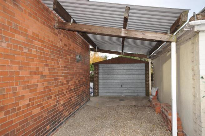 CAR PORT AND SINGLE GARAGE