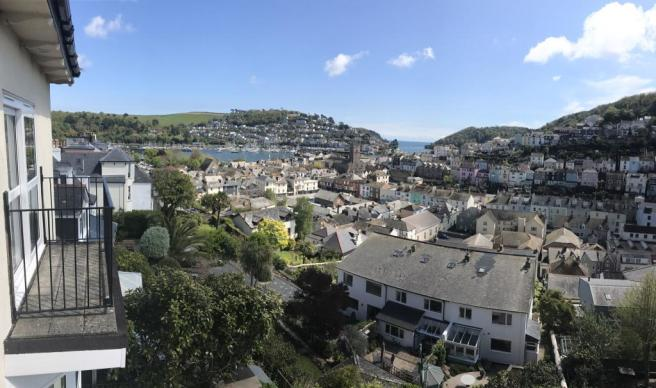 Panorama of view