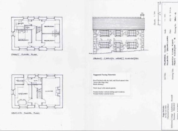 Elevation and layout