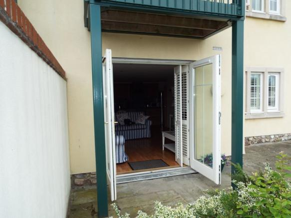 French Doors to Pati