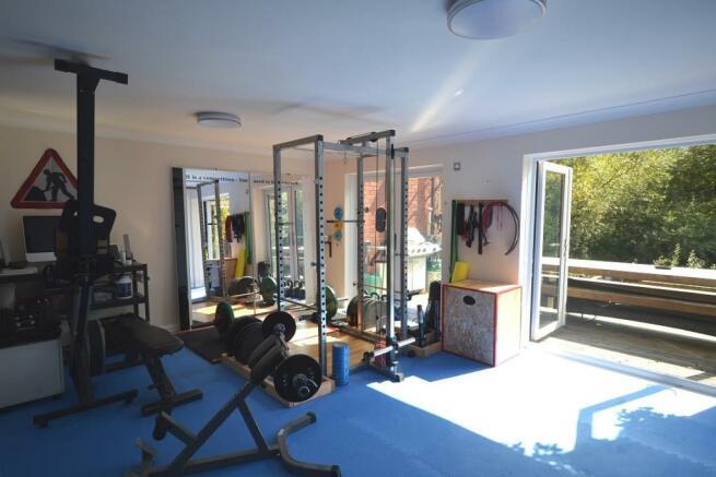 family room/gym