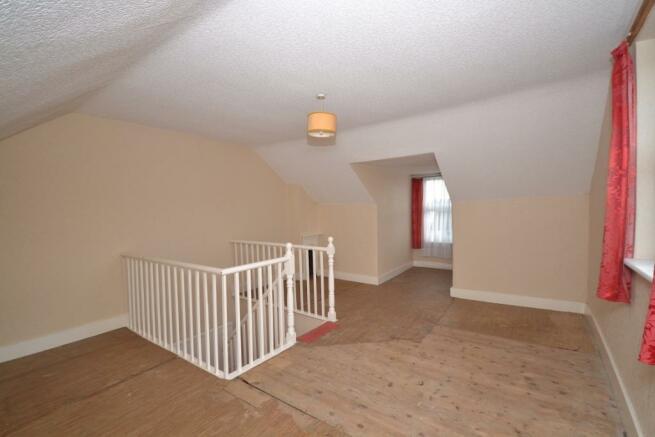 bedroom 3/attic room