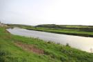 View across road
