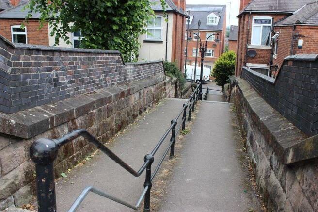 Steps To Burton Road