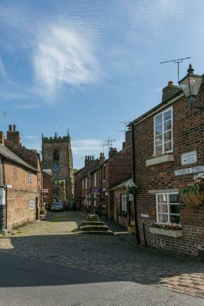 Croston village