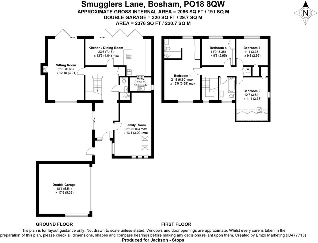 4 Bedroom Detached House For Sale In Smugglers Lane Bosham Diagram 1 Black Is Check 2 Double Chichester West Sussex Po18