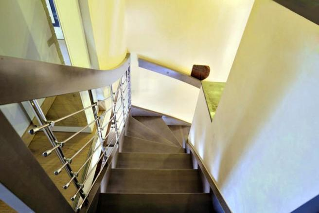 Internal stairs from