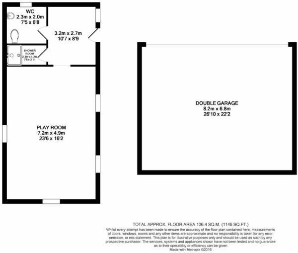 Floorplan - outbuildings