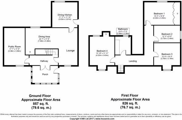 Floor plan - Villa