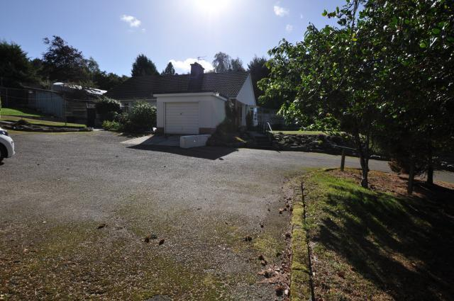 Driveway & garage