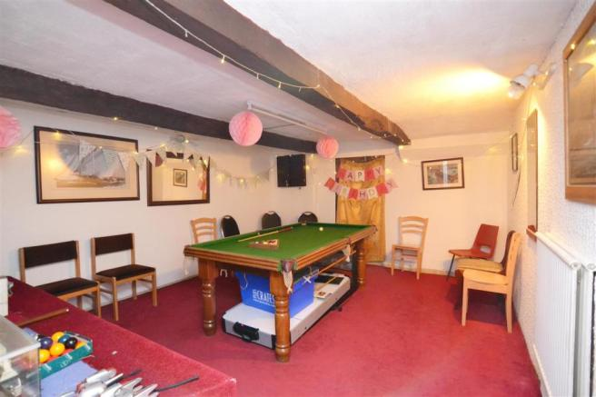 Games Room / Cellar