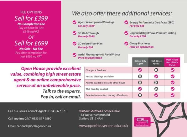 Fees From £399 no