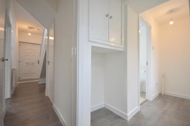 Hallway Back view