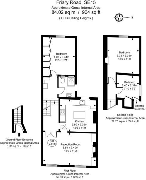 Floor Plan - Friary