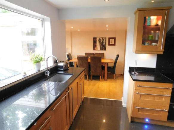 Kitchen to Dining Area