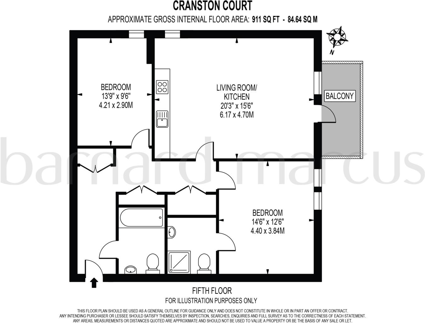 2 bedroom apartment to rent in Bloemfontein Road, London, W12