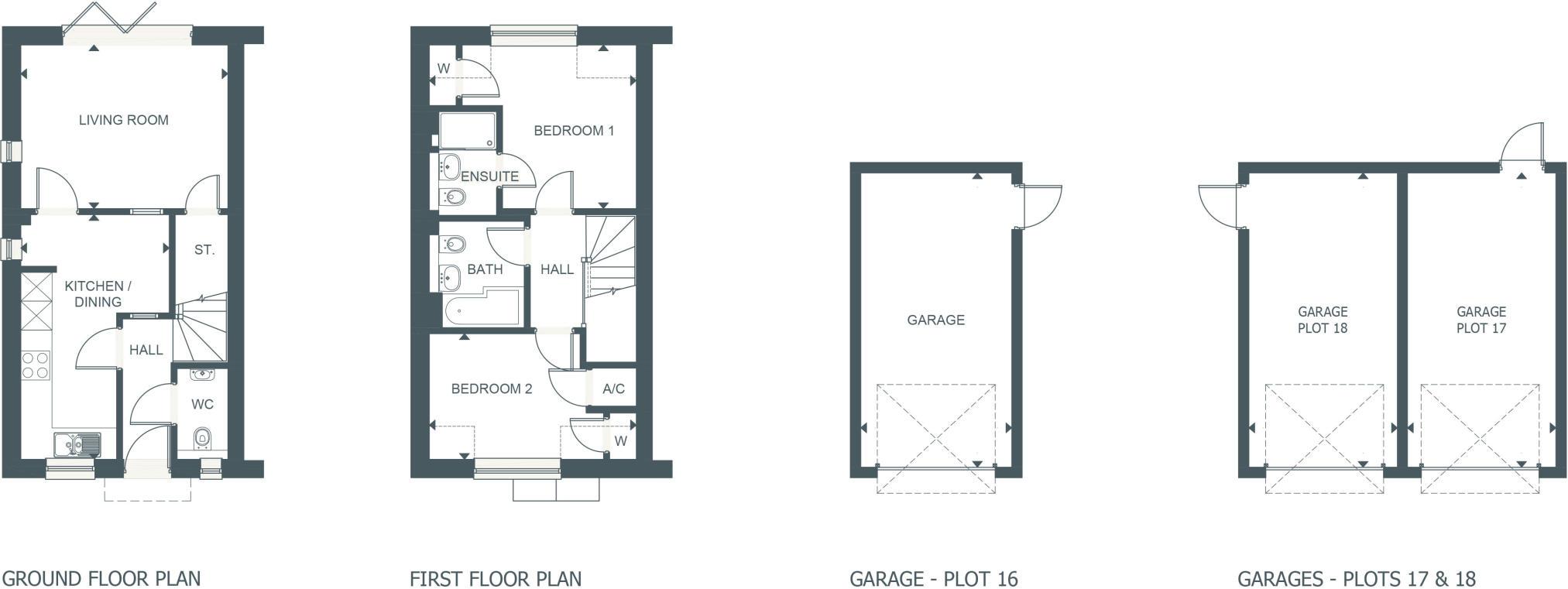 2 Bedroom Terraced House For Sale In No 17 Turchill Terrace Upper Clarke Spa Pump Wire Diagram Acres Ettington Cv37