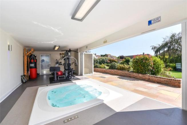 Gym and Jacuzzi Room