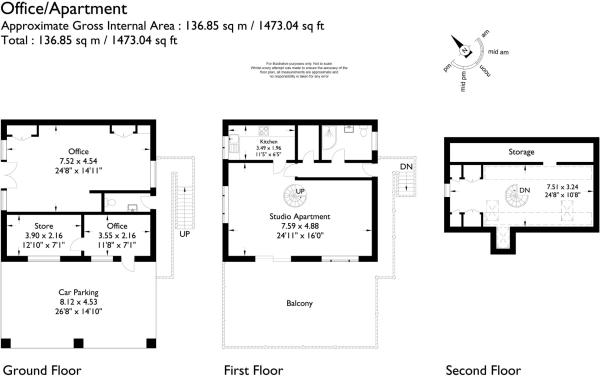 Office & Apartment