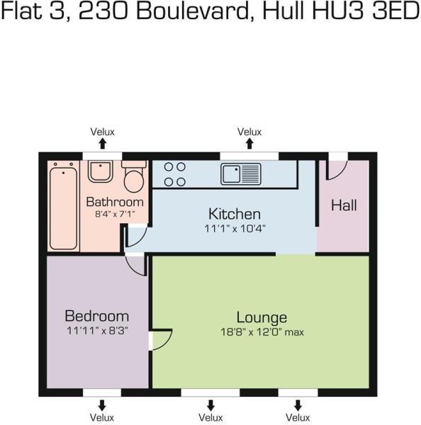 Flat 3 230 Boulevard, Hull HU3 3ED.JPG
