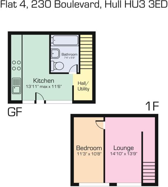 Flat 4 230 Boulevard, Hull HU3 3ED.JPG