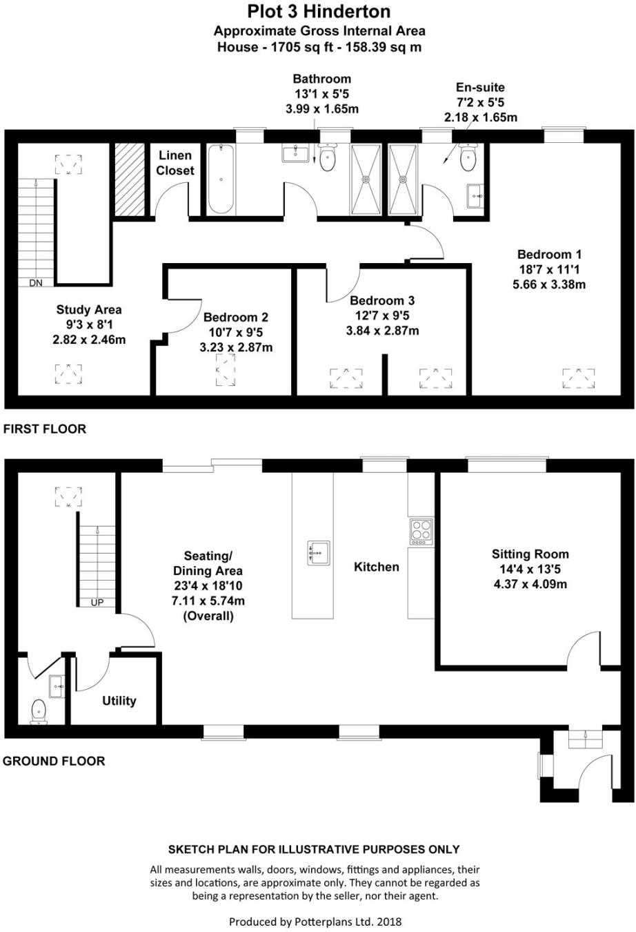 3 Bedroom Mews House For Sale In Hinderton Neston Wirral Ch64 Diagram Wiring 8 Pin Nr 51