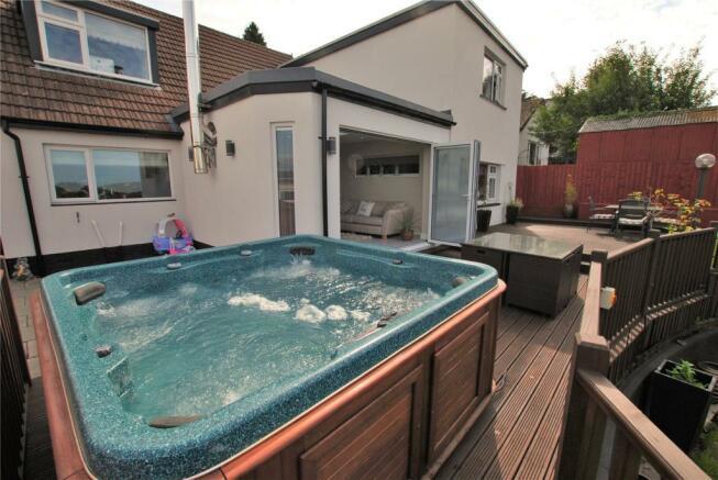 Deck & Hot Tub