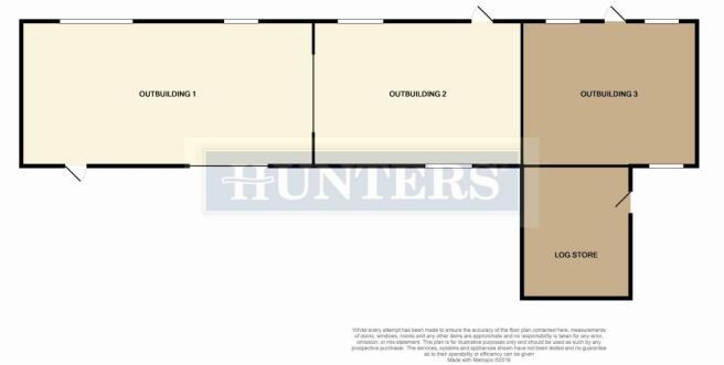 Outbuilding Floor Plan