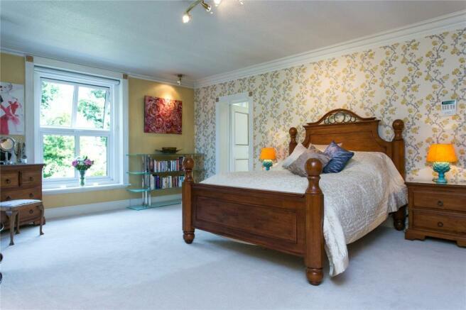 Generous Bedroom
