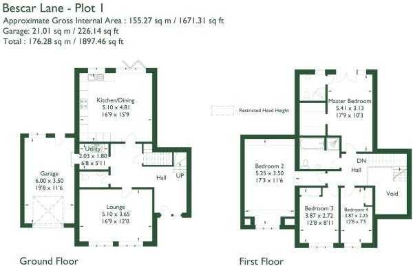 Floorplan Plot 1