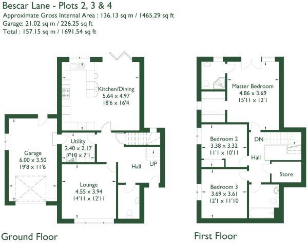 Floorplan Plot 2,3,4