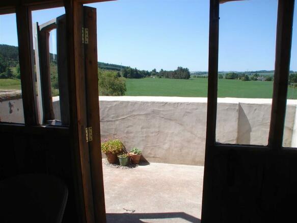 Garden Room and Balcony