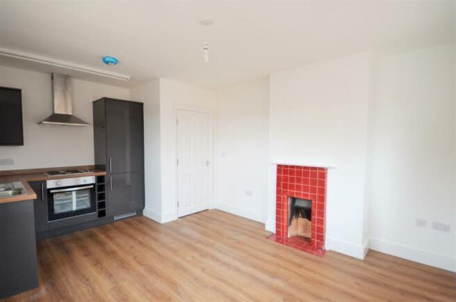 Living/Kitchen Area