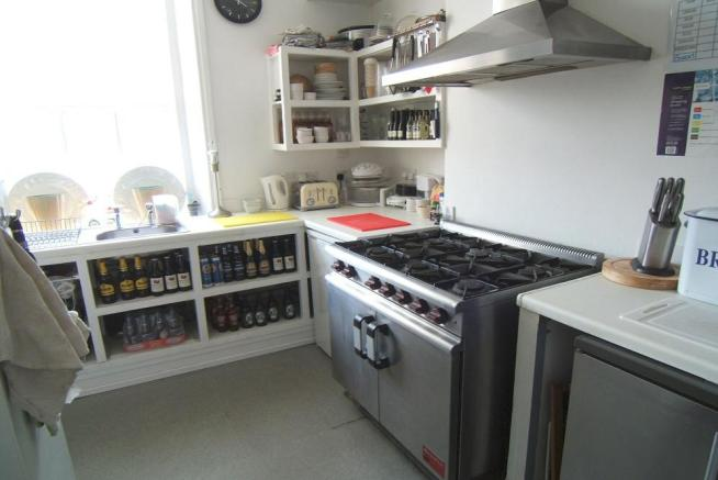 Catering bar kitchen