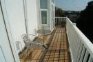Decked balcony
